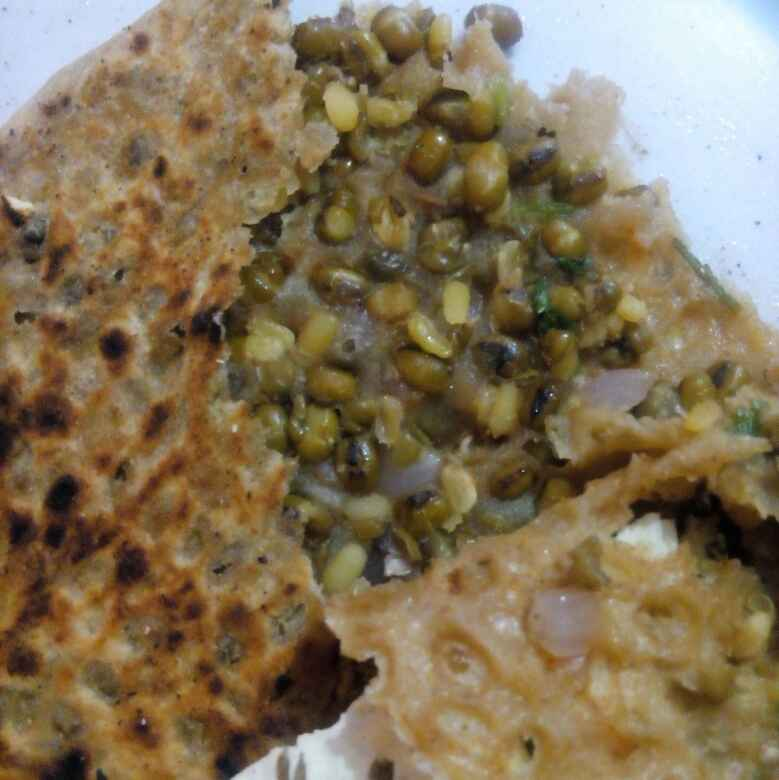 Photo of Moong ka parantha by Honey Lalwani at BetterButter
