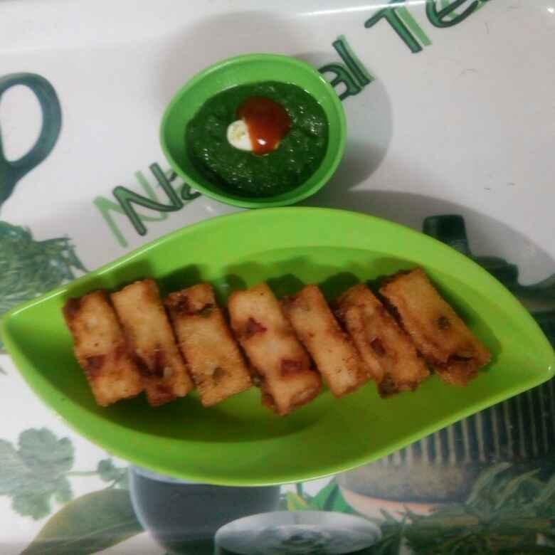 Photo of Vegetable fish fingers (veg) by Honey Lalwani at BetterButter