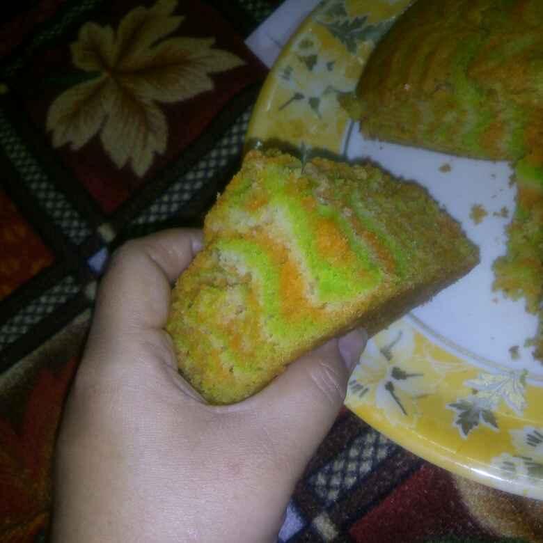 Photo of COLOURFUL Sponge cake by Honey Lalwani at BetterButter