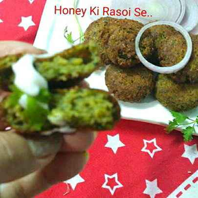 How to make Hariyali kabab