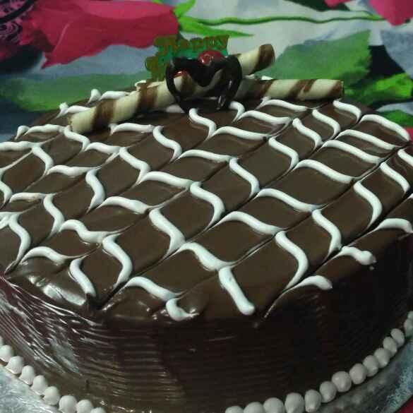 How to make BANANA Walnut Chocolate Cake