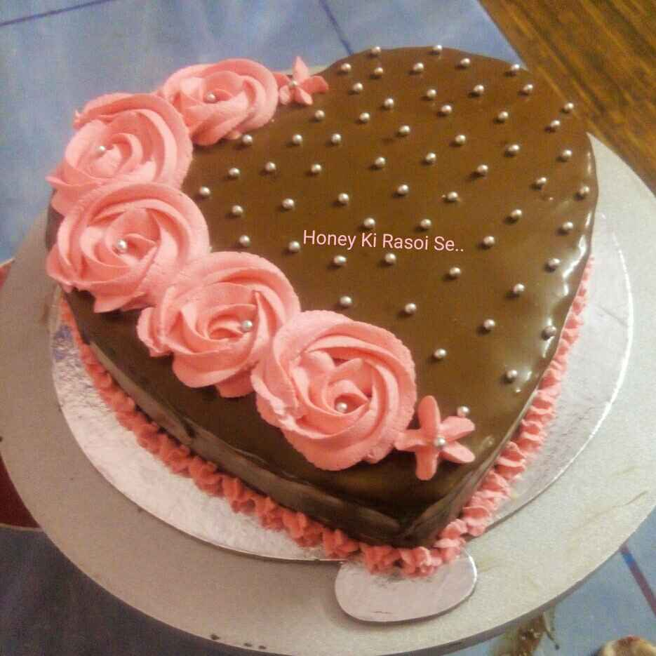 Photo of Rose Chocolate Cake by Honey Lalwani at BetterButter