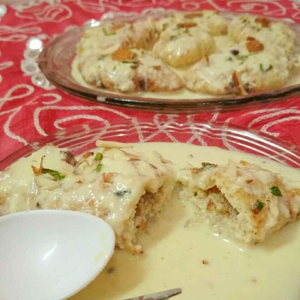Photo of Rabdi bada/rabdi gujhiya by Honey Lalwani at BetterButter