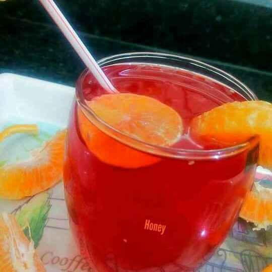 How to make Pink orange lemonade