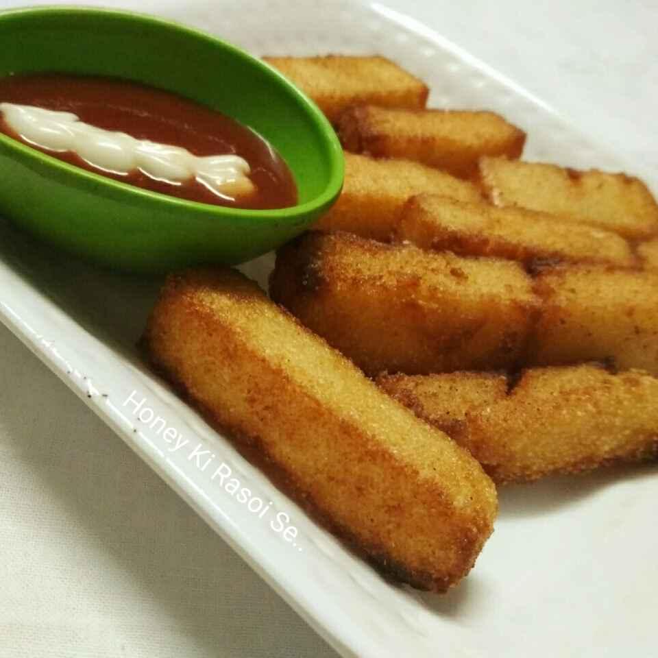 Photo of Crispy Semolina Fingers by Honey Lalwani at BetterButter
