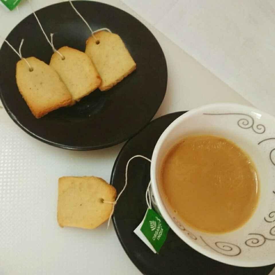 How to make Tea Flavoured Tea Bag Cookies