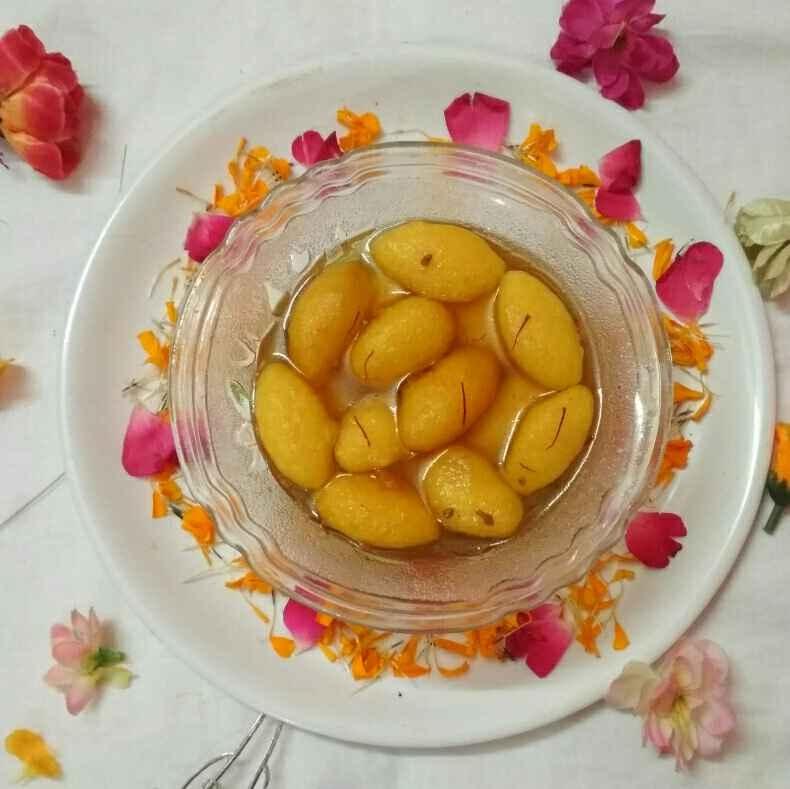 Photo of Rasbhari/ Imarti/ Motadana by Honey Lalwani at BetterButter
