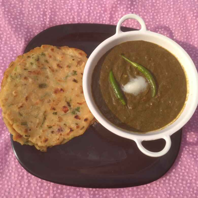 How to make Palli (chane ka saag)