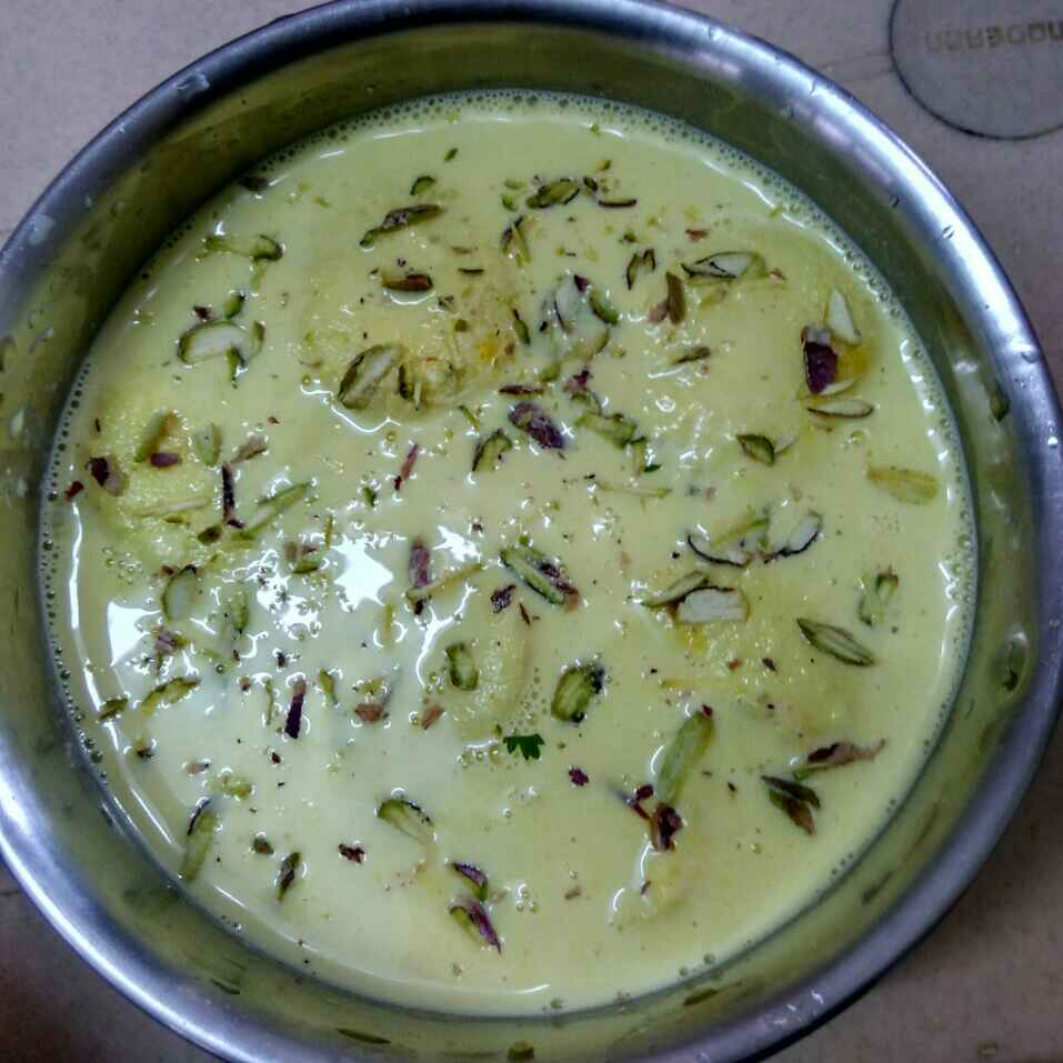 How to make Kesar rasmalai