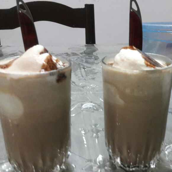How to make Coffee Cream with Ice cream