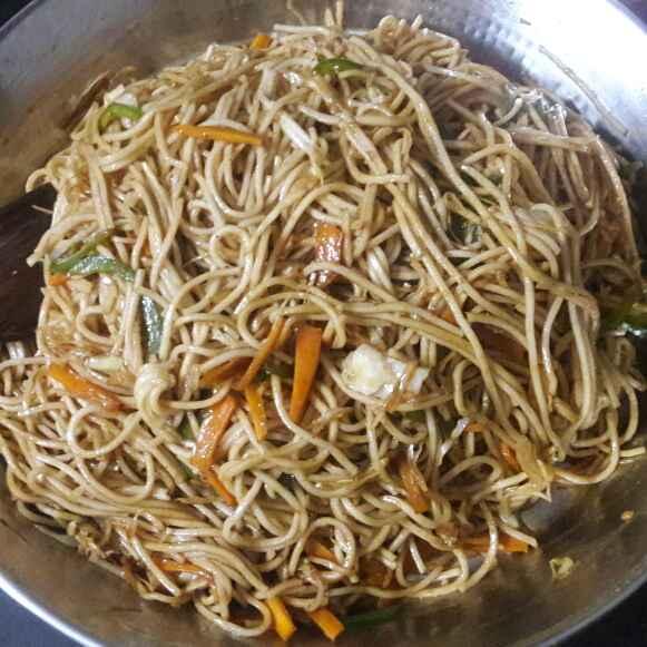 Photo of Hakka noodles by Huda Mulla at BetterButter
