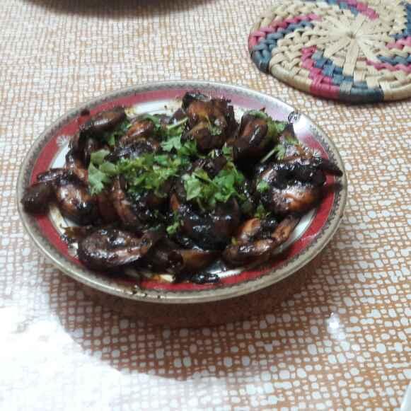 How to make Soya garlic prawns