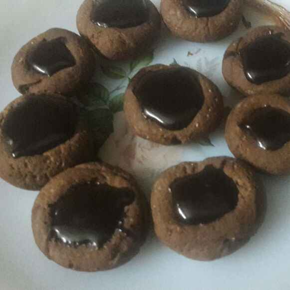 Photo of Thumbprint Cookies by Huda Mulla at BetterButter