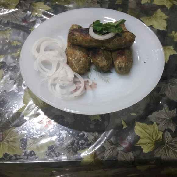 Photo of Chicken seekh kabab by Huda Mulla at BetterButter