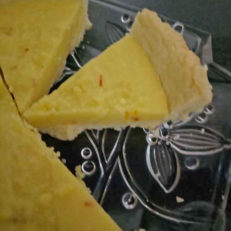 How to make Barfi tart