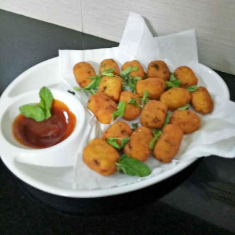 Photo of Potato quick crispy bites by Huda Mulla at BetterButter