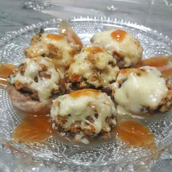 Photo of Mushroom chicken keema cups by Huda Mulla at BetterButter