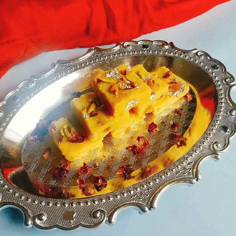 How to make Kabishambardhana Burfi/ Cauliflower Burfi.