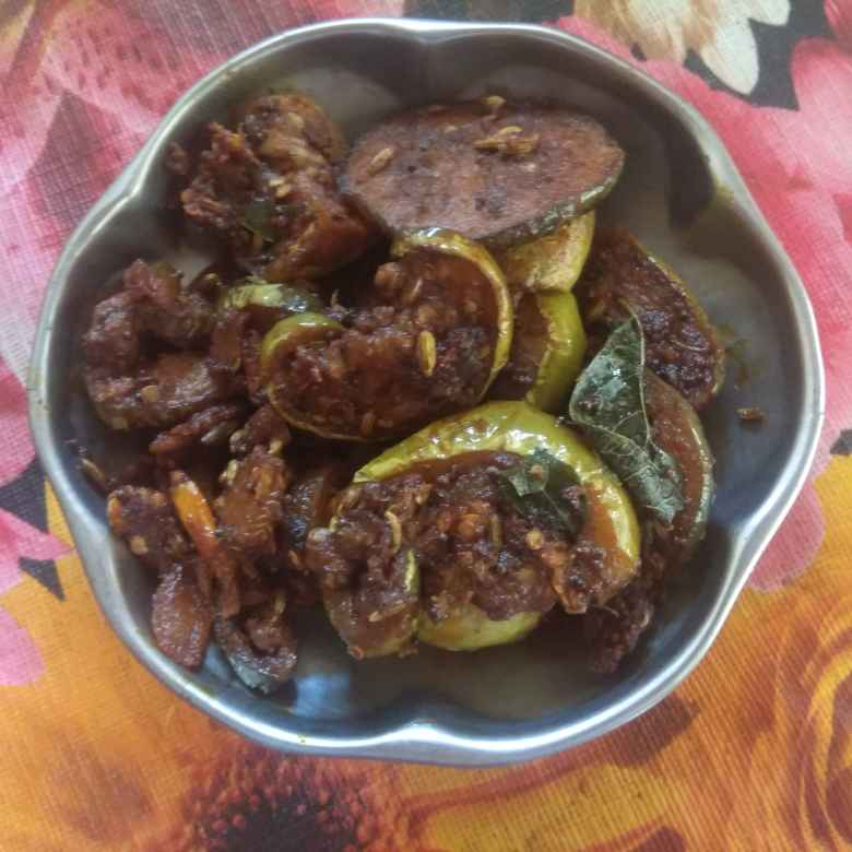 Photo of Brinjal fry by Indhuja Kalingaraj at BetterButter