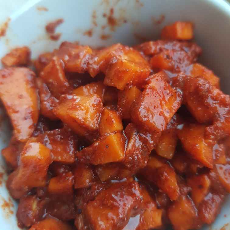 Photo of carrot pickle by Indira Bhaskar at BetterButter