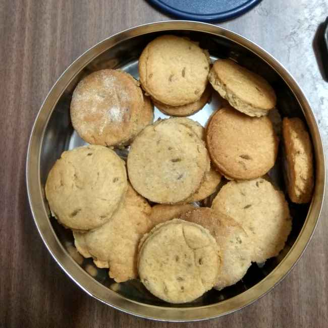 Photo of Peanut butter cookies by Indira Bose at BetterButter