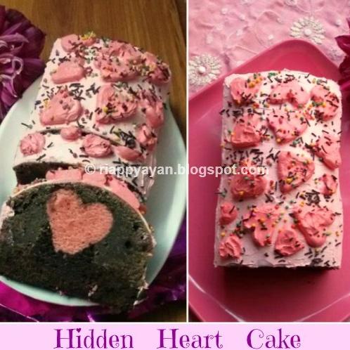 How to make Hidden Heart Chocolate Cake