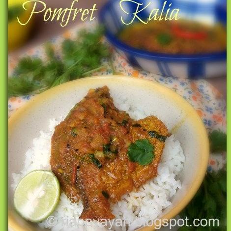 How to make Bengali Style Pomfret Kalia