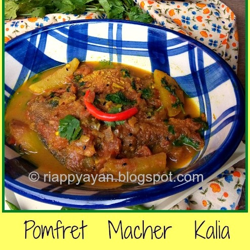 Photo of Bengali Style Pomfret Kalia by Indrani Dhar at BetterButter