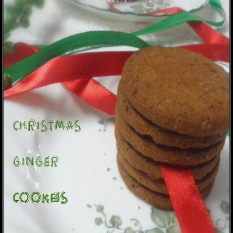 How to make Honey Ginger Cookies