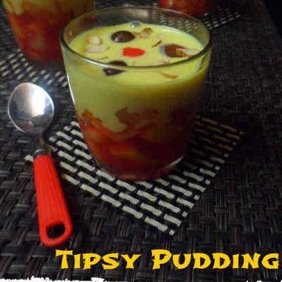 How to make Tipsy Pudding or English Triffle