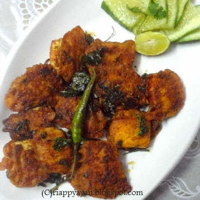 Photo of Spice Coated Paneer Butter Pepper Fry by Indrani Dhar at BetterButter