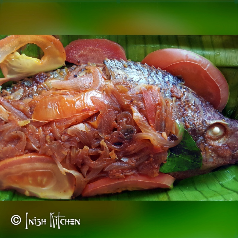 How to make KARIMEEN POLLICHATHU (Fish Masala in Banana Leaf)