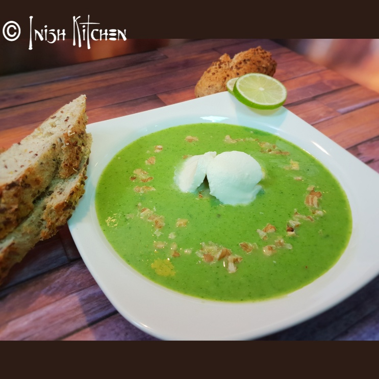 Photo of CHEESY BROCCOLI WALNUT SOUP by Inish Issac at BetterButter