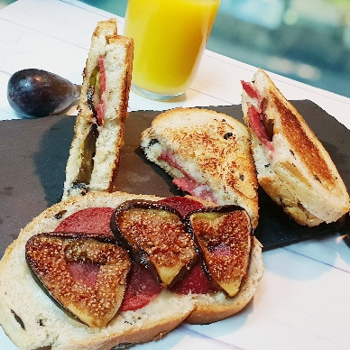 Photo of Fig and Mortadella Sandwich by Inish Issac at BetterButter