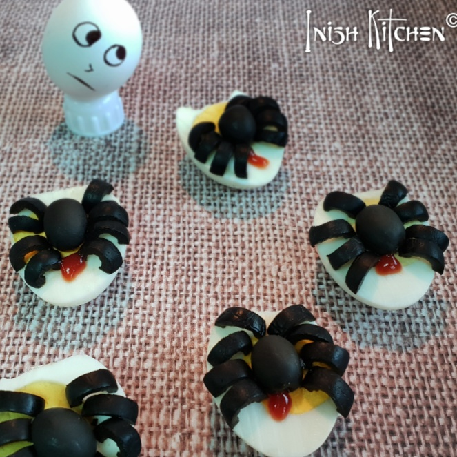 Photo of Spooky Spider Deviled Eggs by Inish Issac at BetterButter
