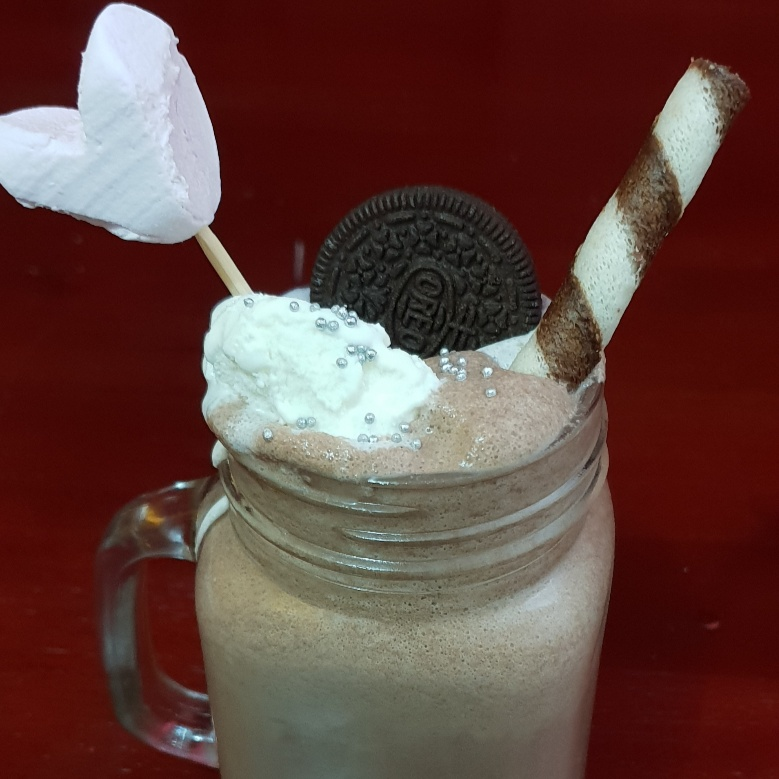 Photo of OREO BANANA FRAPPUCCINO by Inish Issac at BetterButter