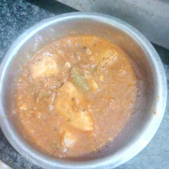 Photo of Potatocapsicum gravy by farhuraaz Peer at BetterButter