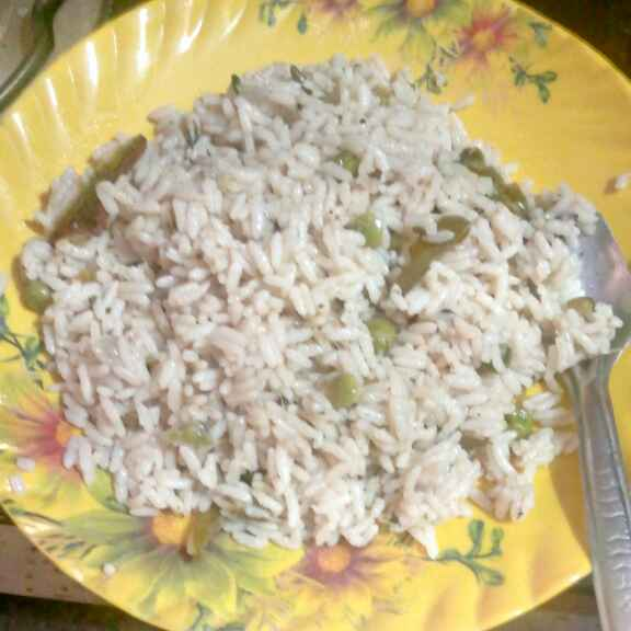 Photo of Pea pulav by farhuraaz Peer at BetterButter