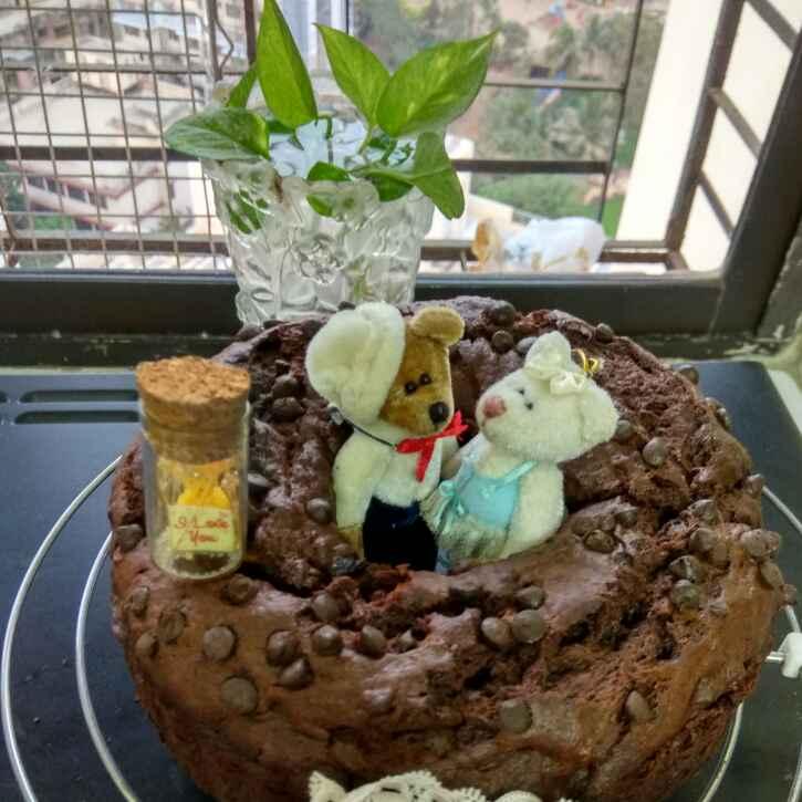 How to make Chocolate Banana Strawberry Cake