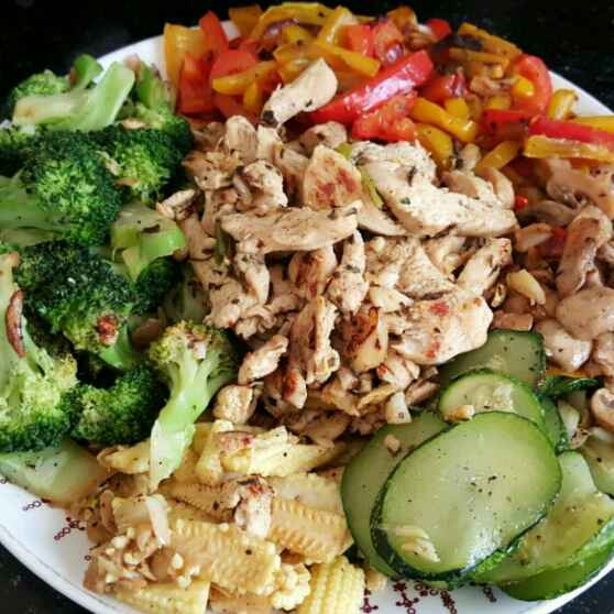 How to make Stir-Fry Chicken Salad