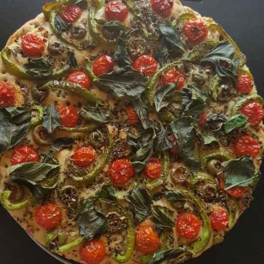 How to make Cherry Tomato Foccacia