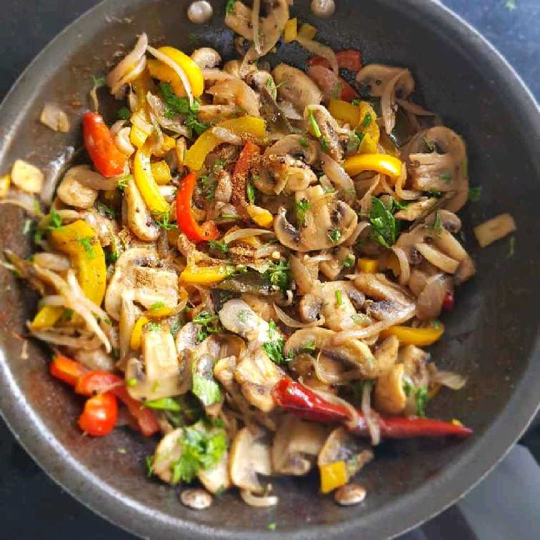 How to make Mushroom Fry