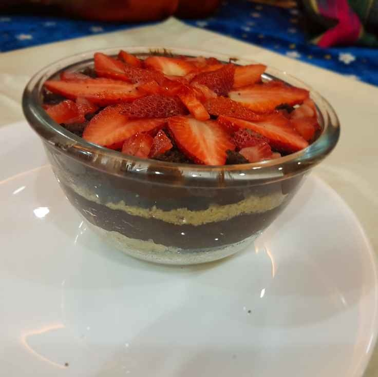How to make Strawberry chocolate Mousse