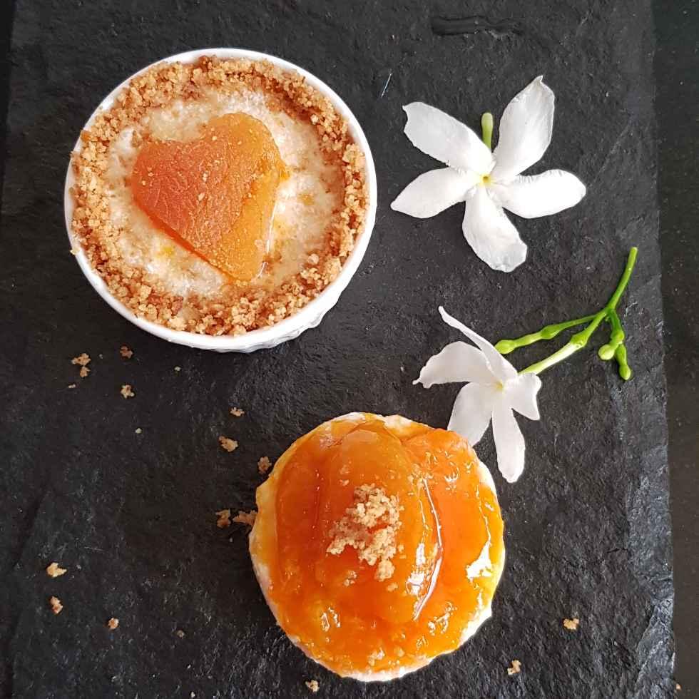 Photo of Chamomile Apricot Mousse by Insiya Kagalwala at BetterButter