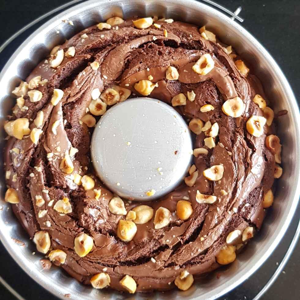 How to make Nutella Hazel nut BROWNIES