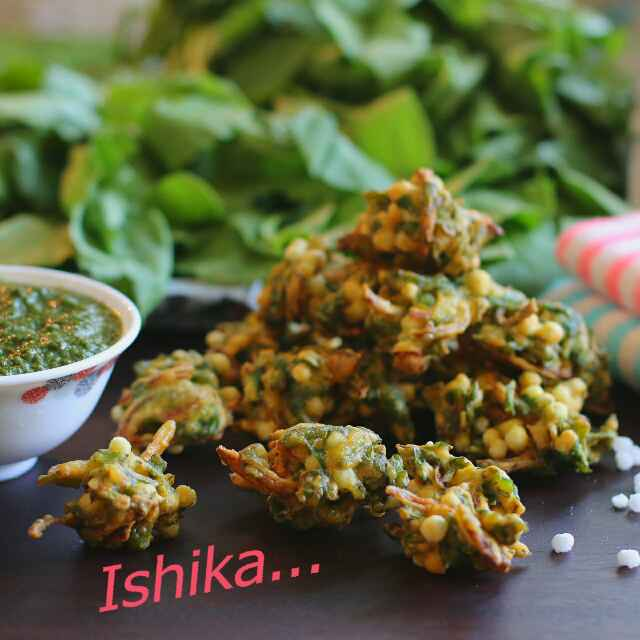 Photo of Spinach Fritters with a Little Twist by Ishika Uppal at BetterButter