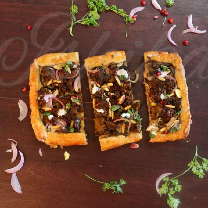 Photo of Lahmacun : a middle eastern bread delicacy by Ishika Uppal at BetterButter