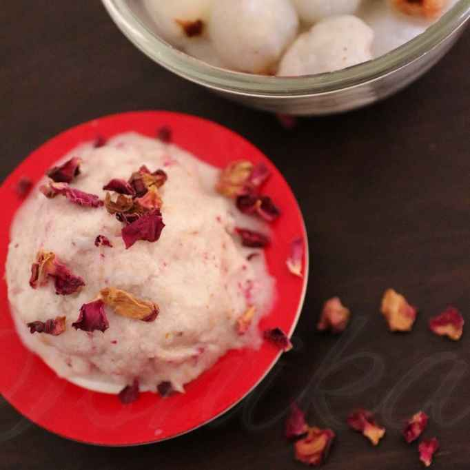 Photo of Lychee Coconut Sorbet by Ishika Uppal at BetterButter