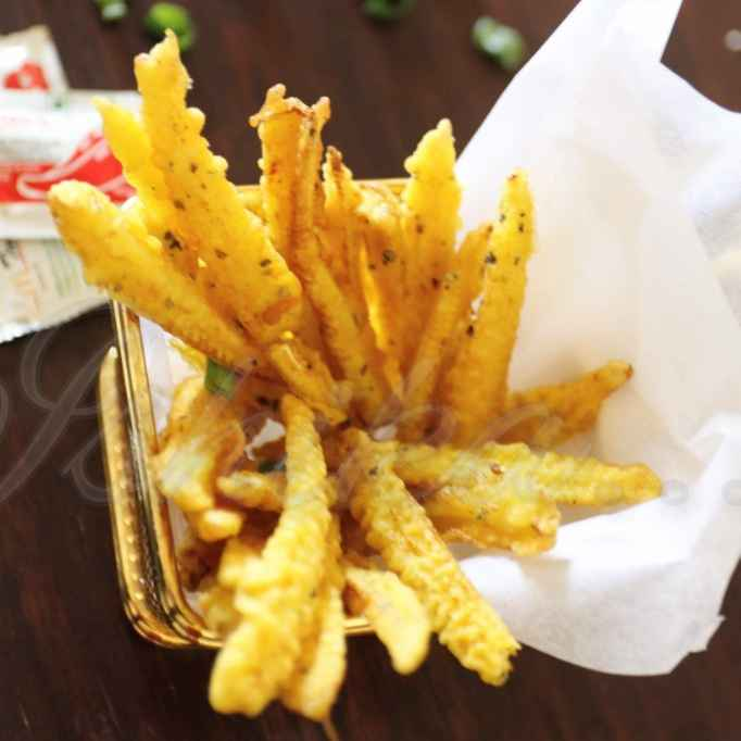 Photo of Babycorn finger fries by Ishika Uppal at BetterButter