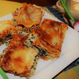 How to make Spinach and Ricotta Lasagna